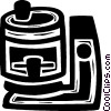 coffee pot/maker Vector Clip Art picture