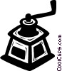 Vector Clipart picture  of a coffee grinder