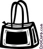 purse Vector Clip Art graphic