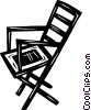 lawn chairs Vector Clipart picture