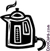 coffee pot/maker Vector Clip Art image