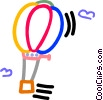 hot air balloon Vector Clip Art image