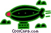 blimp Vector Clipart illustration
