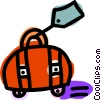 suitcase Vector Clipart graphic