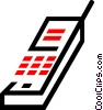 Vector Clipart image  of a cellular phone