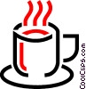 coffee mug Vector Clipart illustration