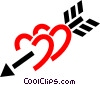 Vector Clip Art picture  of a Valentines