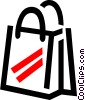 Vector Clip Art picture  of a shopping bag