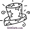 Vector Clip Art picture  of a magicians hat