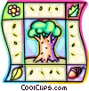 oak tree Vector Clipart picture