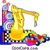 automation Vector Clip Art image