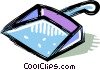 Vector Clipart graphic  of a dustpan
