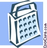 Vector Clipart image  of a cheese grater