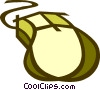 Vector Clip Art graphic  of a computer mouse