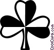 Vector Clipart image  of a St. Patrick's Day