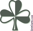 Vector Clipart illustration  of a St. Patrick's Day