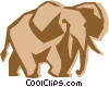 elephant Vector Clipart illustration