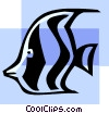 angel fish Vector Clipart illustration