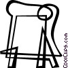 easel Vector Clipart graphic