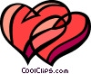 Vector Clip Art image  of a St. Valentine's day heart