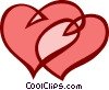 Vector Clip Art graphic  of a St. Valentine's day heart