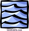 ocean waves Vector Clip Art graphic