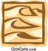 desert Vector Clip Art graphic