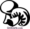 mushrooms Vector Clipart graphic