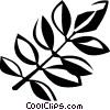 black locust Vector Clip Art picture