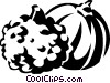 Vector Clipart graphic  of a gourds