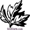 Vector Clipart picture  of a lovage