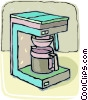 Vector Clip Art picture  of a coffee machines