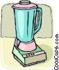 Vector Clipart picture  of a electric mixers/blenders