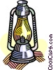 Vector Clipart illustration  of a oil lantern