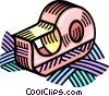 Vector Clipart graphic  of a tape