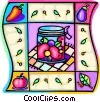 jam, preserves Vector Clip Art graphic