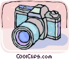 35mm camera Vector Clipart picture