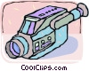 home video camera Vector Clipart picture