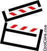 clapboard Vector Clipart picture