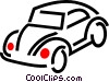 Vector Clip Art image  of an automobile