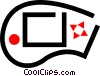 video game joy stick Vector Clip Art graphic