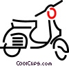 scooter Vector Clip Art picture