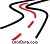 highway Vector Clipart picture