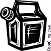 gasoline container Vector Clipart picture
