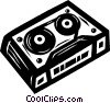 Vector Clip Art picture  of a video tape