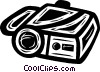 Vector Clipart picture  of a video camera