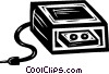 computer backup systems Vector Clipart picture