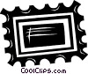 Vector Clipart illustration  of a stamp