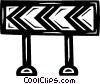 barriers Vector Clipart illustration