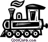 Vector Clipart picture  of a train engine